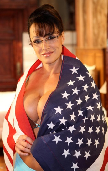 Lisa Ann as Sarah Palin
